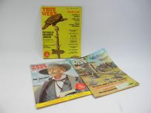 Jan 1960 Oct 65 & Aug 68 True West Magazine Lot
