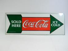 Ice Cold Coca-Cola Sold Here Tin Sign