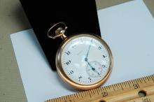 1909 Gold Filled Elgin Engraved Pocket Watch