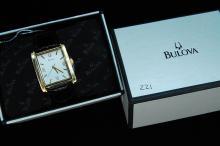New Bulova Mens Dress Watch W/ Box