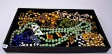 Lot of Costume Jewelry Necklaces Earrings and Pendants