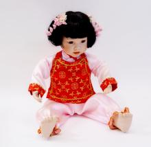 Danbury Mint Mei-Mei Doll by Bruce Hsieh in Box