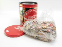1993 Coca-Cola Collectors Tin With Jigsaw Puzzle