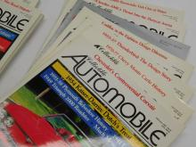 12 Vintage Issues Of Collectible Automobile