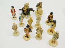 Lot Of 12 Vintage Sebastian'S Originals Figurines