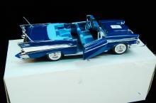 1/24 Danbury Mint 1957 Chevy Bel Air Model Car