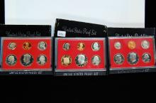 1980-1982 US Proof Coin Set Lot Of 2