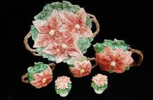 Omnibus Japan Floral Tea Set /Salt Pepper Shakers