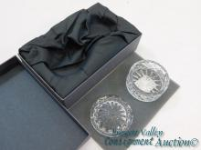 2001 Waterford Society Crystal Keepsake Box New in Package