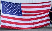 Large 15ft x 10ft American Flag