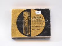 Vintage Minox B Subminiature Black Spy Camera in the Box