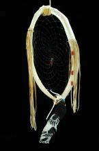 Native American Animal Breast Bone Dream Catcher