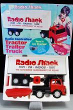 Vintage Radio Shack Radio Controlled Tractor Trail
