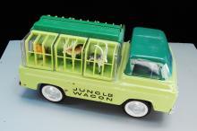 Vintage Nylint Pressed Steel Jungle Wagon Truck