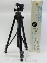 Unused Silk 1000 Professional Black Universal Tripod in Box