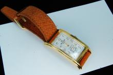 Modern Waltham Quartz Watch W/ Leather Band
