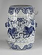 CHINESE POTTERY GARDEN SEAT