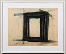 ROBERT MAKI (1938- , WA) PASTEL AND GRAPHITE ON PAPER - Signed at lower right and dated. Titled