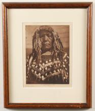 EDWARD CURTIS (1968-1952, WA) PHOTOGRAVURE ON PAPER - Titled