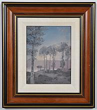 MICHEL DELACROIX - (1933 - , France) OIL ON CANVAS - Signed on lower right and on reverse
