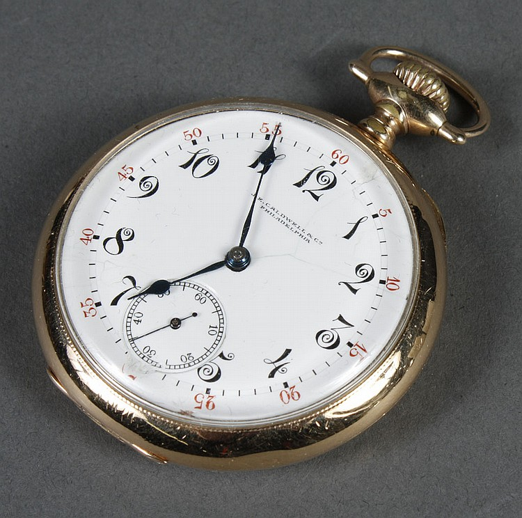 VACHERON AND CONSTANTIN POCKET WATCH - Manufactured for J