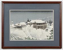 TOMIKICHIRO TOKURIKI (1902-2000, Japan) WOODBLOCK ON PAPER - Titled