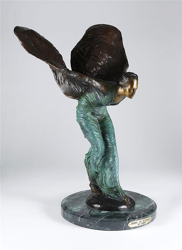CHARLES ROBINSON SYKES SCULPTURE - Reproduction of the original titled