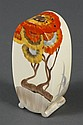 CLARICE CLIFF BONJOUR SHAPED SUGAR SIFTER - In the
