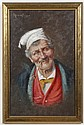 OIL PAINTING ON CANVAS BOARD - Signed