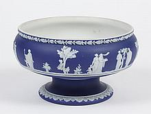 WEDGWOOD JASPERWARE FOOTED BOWL- Bowl slug marked