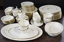 LENOX PORCELAIN DINNER SERVICE- 81 pieces by (c)Lenox Inc.