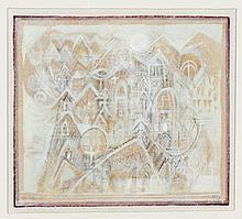 HANS RUDOLF STRUPLER (1935, Switzerland) PAINTING - Signed with initials