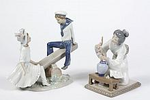 TWO LLADRO FIGURINES - Comprising