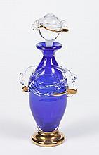 ART GLASS PERFUME BOTTLE -