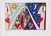 JAMES RIZZI (1950-2011, NY) PRINT ON PAPER -