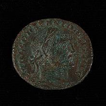 ANCIENT ROMAN BRONZE COIN - Constantine I