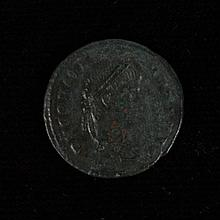 ANCIENT ROMAN BRONZE COIN - Constans - Roman emperor; 337-350 AD. Cyzicus mint 337-340 AD. Diademed head right - DNCONSTANS PF AVG....