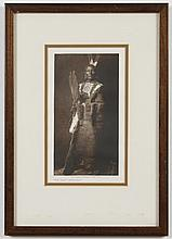 EDWARD S. CURTIS (1868-1952, WA) PHOTOGRAVURE - Titled