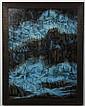 BERTHA H.(Horne) KUVSHINOFF (1915-1999, WA) OIL ON BOARD - Titled on reverse,