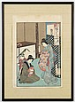 CHIKANOBU YOSHU (1838-1912, Japan) WOODBLOCK ON PAPER - Titled