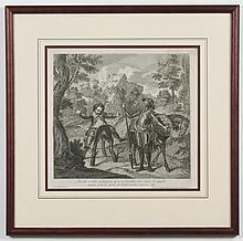 After Charles-Antoine Coypel (1694-1752, France) ENGRAVING ON PAPER - Titled
