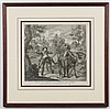 After Charles-Antoine Coypel (1694-1752, France) ENGRAVING ON PAPER - Titled