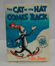 The Cat In The Hat Comes Back by Dr. Seuss - First Edit