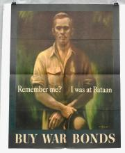 War Bonds Poster From World War II - Remember Me? I Was