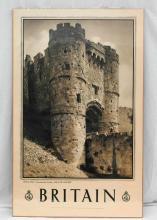 1930s Britain Travel Poster - Carisbrooke Castle, Isle