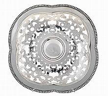 20th century Portuguese silver basket.