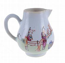 Chinese porcelain cream jug.