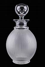 Lalique Langeais decanter.