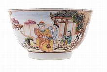 Chinese porcelain cup, 18th century.