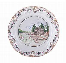 Chinese porcelain dish.